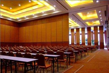 宁波嵊州超级大酒店隔断屏风项目